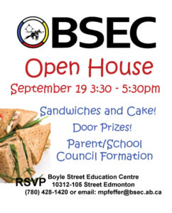 BSEC Open House September 19 2018