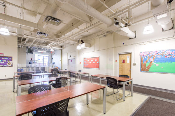 BSEC Open Workspace With Desks And Dividers small